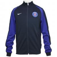 フランス・リーグ・アン、パリ・サンジェルマンの16-17シーズンモデル、トラックジャケット。 左胸の...