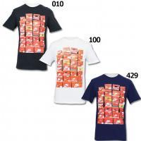 ナイキ、半袖Tシャツ。 年代物のナイキシューズボックスの写真入りの半袖Tシャツ。 素材:プレーンジャ...