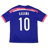 日本代表2014ホーム、マーク入りジュニアレプリカジャージー。 サッカー日本代表 新オフィシャル ホ...