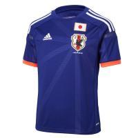 日本代表2014ホームジュニアレプリカジャージー。 サッカー日本代表 新オフィシャル ホーム ユニフ...