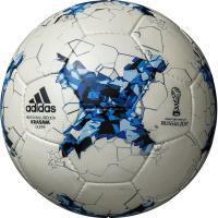 アディダス、FIFA主催大会公式試合球「KRASAVA」、レプリカ4号球。 コンフェデレーションズカ...