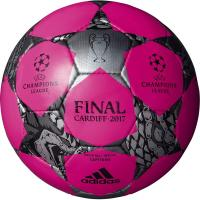 アディダス、サッカーボール4号球。 UEFAチャンピオンズリーグ2016-2017の決勝戦を含む決勝...