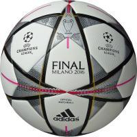 アディダス、UEFAチャンピオンズリーグ2015-2016の決勝戦で使用される公式試合球。 ◆国際公...