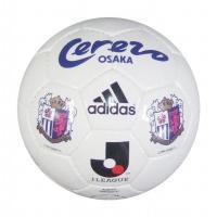 セレッソ大阪の2号球サインボール。  ●縫い・人工皮革 ●直径15cm ●2号球