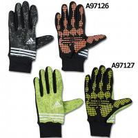アディダス、手袋。 サッカー日本代表チームサプライアイテム。トレーニング用のグリップ強化したオンピッ...