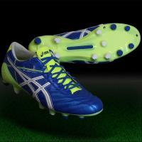 アシックス、サッカースパイク。 素足感覚のボールタッチを。足との一体感が進化したカンガルー表革モデル...