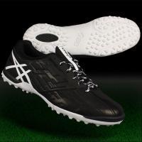 アシックス、フットサルシューズ。 素足感覚のための柔軟性を追求したTOQUE4の人工芝専用モデル。 ...