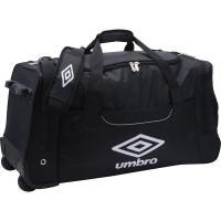 アンブロ、ホイールキャリーバッグ。 キャリー用ホイール付きの大型バッグ。遠征時に最適。 素材:ポリエ...