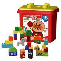 ブロックラボ アンパンマン はじめてのブロックバケツ 新品   知育玩具 おもちゃ (弊社ステッカー付)