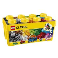 35色のレゴ(R) ブロックのセットで、無限に広がる創造力を組み立てよう!窓、目、たくさんの車輪がつ...