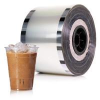 カップシール フィルムカップ バブル 茶 プラスチックカップ シーラーフィルム(1ロール)