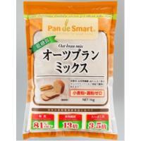 オーツ麦のふすま(オーツブラン)を使用したパン用ミックスで、低糖質、高食物繊維、高たんぱく質のオーツ...