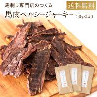 犬 アレルギー おやつ 無添加 ジャーキー 国産 馬肉ヘルシージャーキー 120g (40g×3袋) 犬用 おやつ 公式 健康いぬ生活 送料無料