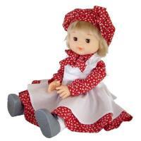 英国テイストのモンシェリドール。おしとやかなロングスカートバージョン、赤と白のコントラストがかわいい...