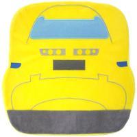 新幹線の正面のアングルでデザインした、ふわふわのぬいぐるみ生地を使用した座布団です。中には低反発ウレ...