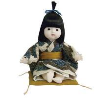 京おさなのお人形は、誰からも愛される、愛くるしい表情が特徴です。着物姿がかわいい男の子の和人形、帯は...
