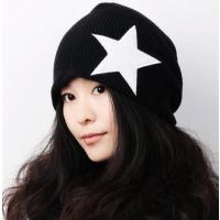 メンズ レディースシンプル スターニット帽 ワンカラー 星 帽子 カジュアル ファッション小物 男女...