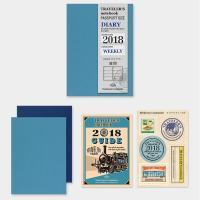 【クロネコDM便(旧メール便)対応商品(2冊まで)】■トラベラーズノートパスポートサイズ リフィル ...