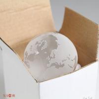 ■ 地球型ペーパーウエイト。Sサイズ■サイズ・重量/本体:直径約50mm 約170g、ケース:W65...