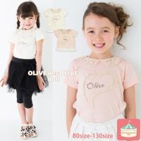OLIVE des OLIVE doll<br>OLIVE レースハート チュニック 子...