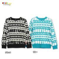ロゴ入りの柄デザインが目を引くチャビーのセーターは、カジュアルになりすぎないROCKなデザインなので...