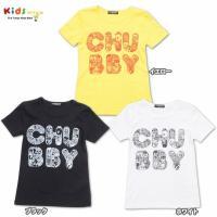 RobKidneyコラボのTシャツは、ロゴの中をイラストプリントで埋めた可愛いデザイン★もちろんチャ...