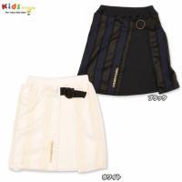 巻きスカート風のデザインがかわいいスカートは、落ち着いたカラーでコーデにも合わせやすいデザイン。レン...