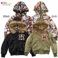 サーモライト生地を使用した、リバーシブルのミリタリージャケット!極寒の厳しい環境下でも暖かさを保てる...
