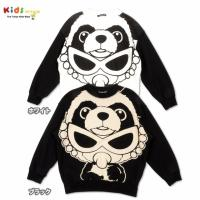 acho-!!!人気のカンフーパンダが着やすいトレーナータイプで登場♪モノトーン調で大人っぽいデザイ...