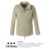 タトラス TATRAS サファリジャケット メンズ M65 パッカブル ミリタリ MTA15S4345 SARDEGNA|kiiroya-import|02