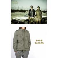 タトラス TATRAS サファリジャケット メンズ M65 パッカブル ミリタリ MTA15S4345 SARDEGNA|kiiroya-import|04