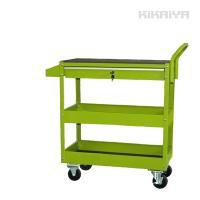 ・DIYやガーデニングなど、便利で使いやすい3段のワーキングカートです ・丈夫なスチール製なので、本...