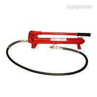 ・手動式油圧ポンプ(小)単品商品です  ・油圧ホースが付属しております  ■商品詳細■  【本体重量...
