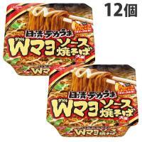 『賞味期限:19.09.06』 日清食品 日清デカうま Wマヨソース焼そば 153g×12個