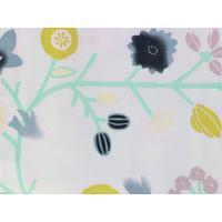 洗える着物 仕立上り 単品 Lサイズ 淡いピンクグレー地花と鳥柄 袷 女性 レディース 小紋 通販