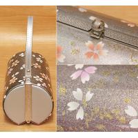 振袖用 草履バッグセット 17-104 シルバー×ピンク色のぼかしの草履&バッグ フリーサイズ