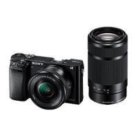 ILCE-6000Y-B ブラック [SONY ソニー] デジタル一眼カメラ α6000 ダブルズー...