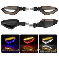 バイク用 LEDテールランプ内蔵 ウインカー/4個セット/1台分/リレー/3