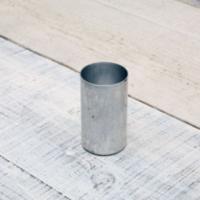 キャンドル製作用に必要な専用のアルミ製の型(モールド)です。 高さ 9cm x 幅 5cm のキャン...