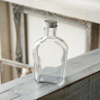 ハーバリウム瓶 ウイスキー 約200ml フタ付き