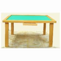 麻雀卓 麻雀テーブル 脱着式 K-2   麻雀牌も楽に取り扱えます。 点棒を収納できる引出し付きタイ...