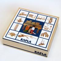 フランス生まれの魔法の板、ブロック 積み木 KAPLA・カプラ100です。 かわいい木箱に入ったカプ...