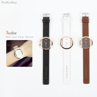 ●全3色!ベルトラインクリアウォッチ ●バングルのようにカジュアルに、お洒落に使える腕時計★ ●ベル...