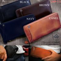 イギリスキャピタル社の高級イタリアンレザーを使用、人気のベジタブルレ ザー財布。 1つ1つ職人により...