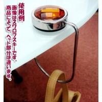 バッグフックホルダー ベーシック ゴールド(バッグをテーブルにかける釣り下げ収納/便利なバックホルダー/カバンフック/携帯ハンガー)
