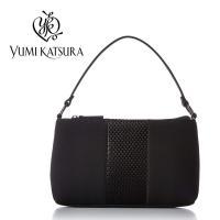 桂由美 ブラックフォーマルバッグ YKRE003 YUMI KATSURA(結婚式/葬式/冠婚葬祭/弔事/鞄/黒いバッグ)