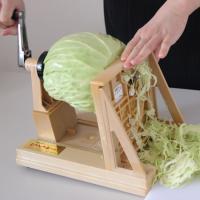 ●送料無料● ニューキャベック キャべツの千切りや大根(だいこん)のつまができるスライサー(野菜調理...