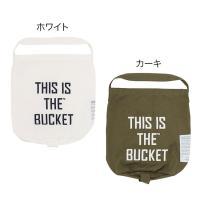 THIS IS THE_GEAR Laundry BUCKET ギアツール ランドリーバケツ 001231(バッグ/トート/バケツ/バケツバッグ/ランドリー/バスケット/おしゃれ)