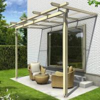 送料無料【YKKAP】様々な住宅テイストに調和する、オール木調のテラス屋根が登場!