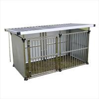 メタルテック  ステンレス製マルチ犬舎  DFS-M1 (0.5坪タイプ)   『屋外用動物小屋 犬小屋』